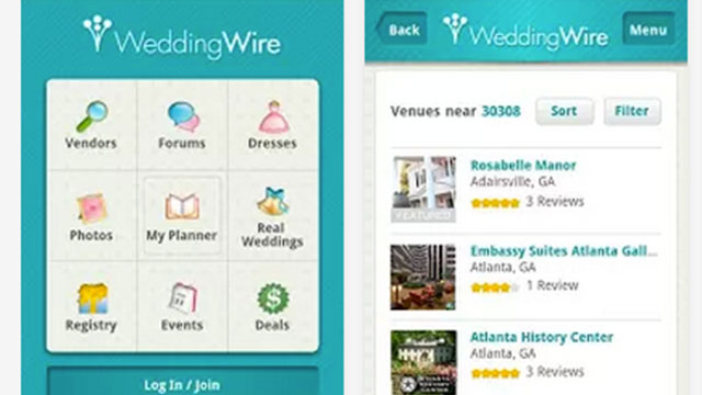 wedding planning apps for ipad
